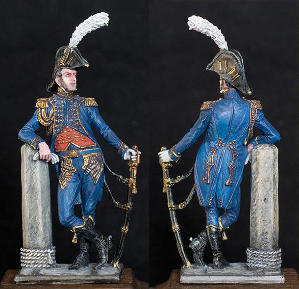 Figures: Marine officer of Emperor's Guard, France, 1807-11