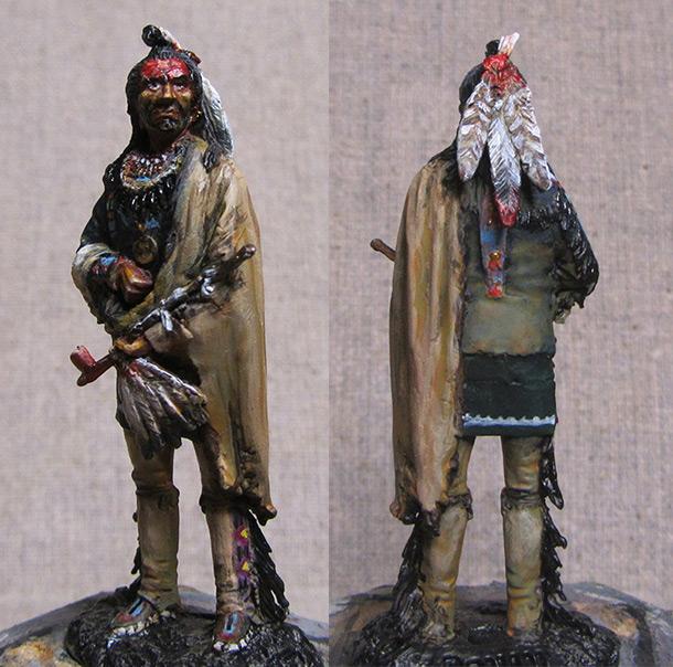 Figures: Blackfoot warrior