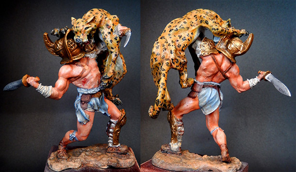 Figures: Fight with the beast