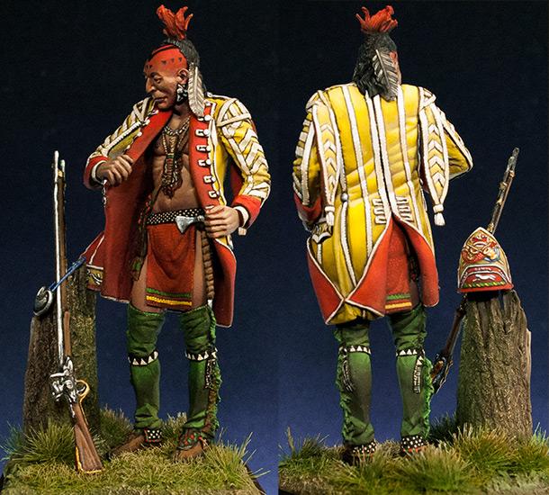 Figures: Iroquois, 1755