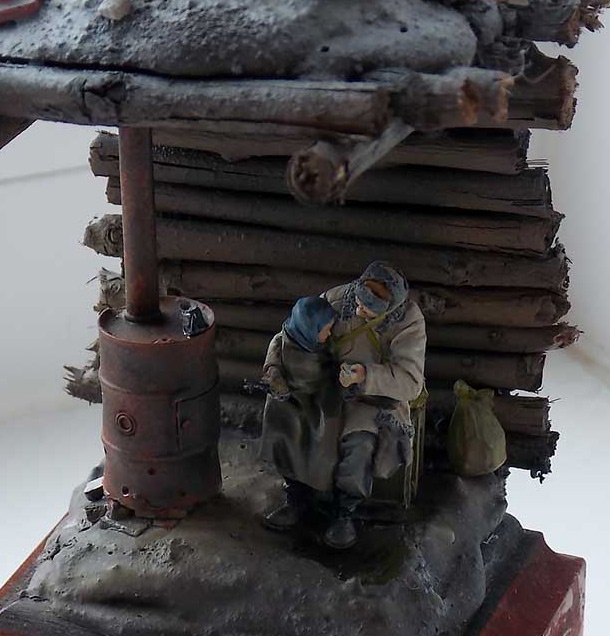 Dioramas and Vignettes: Stalingrad dugout