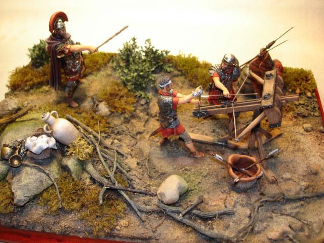 Dioramas and Vignettes: Roman Catapult, photo #1