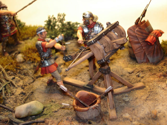 Dioramas and Vignettes: Roman Catapult, photo #2