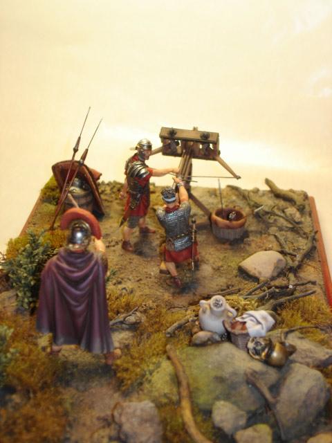 Dioramas and Vignettes: Roman Catapult, photo #3