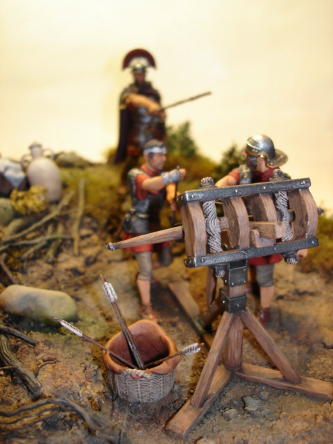 Dioramas and Vignettes: Roman Catapult, photo #4