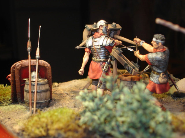 Dioramas and Vignettes: Roman Catapult, photo #5