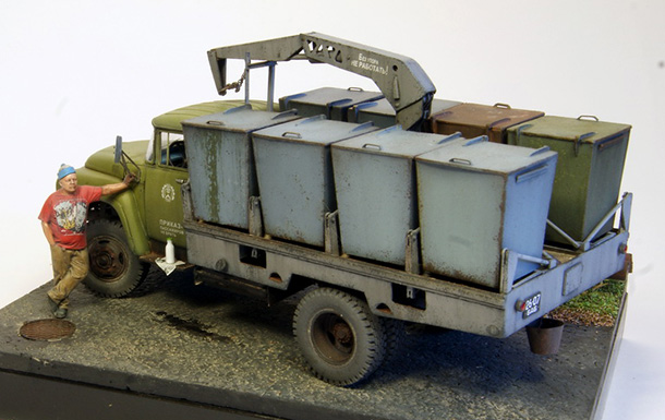 Dioramas and Vignettes: ZiL-130 M30