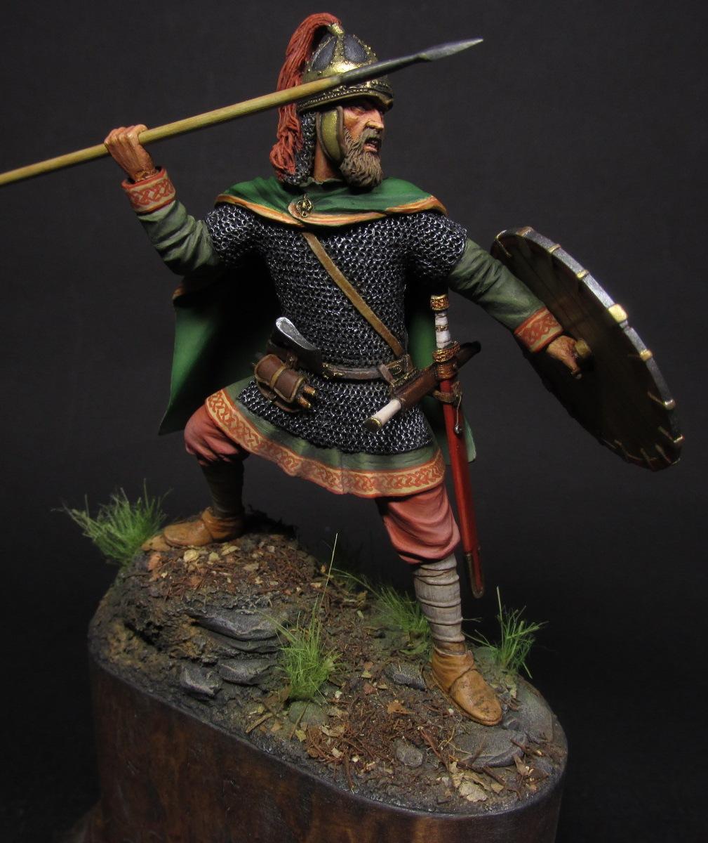 Figures: Merovingian frank, photo #1