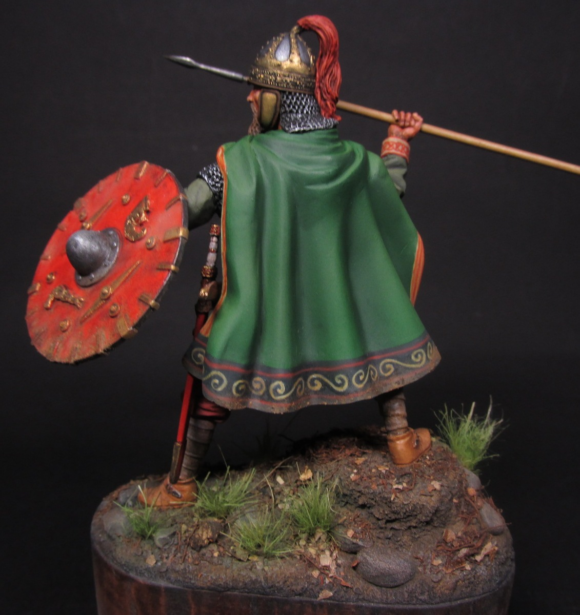 Figures: Merovingian frank, photo #14
