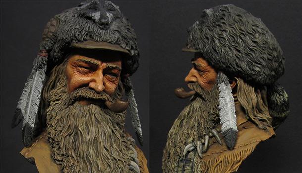 Figures: Mountain man