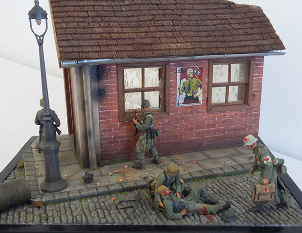 Dioramas and Vignettes: Aachen 1944: Fight in the german Reich