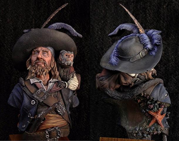 Figures: Hector Barbossa