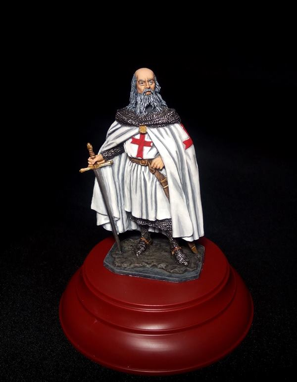 Figures: Jacques de Molay, the last Templar master , photo #3