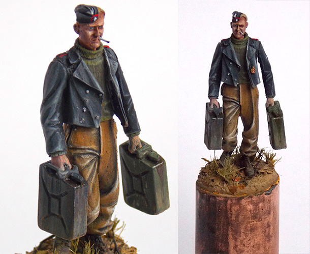 Figures: German SPG crewman