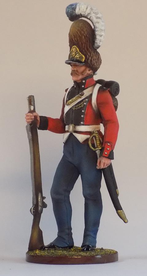 Figures: Grenadier of Oldenburg regt., Denmark, 1807-13, photo #1