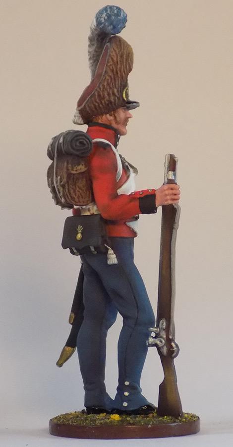 Figures: Grenadier of Oldenburg regt., Denmark, 1807-13, photo #2