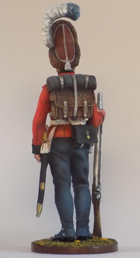 Figures: Grenadier of Oldenburg regt., Denmark, 1807-13, photo #3