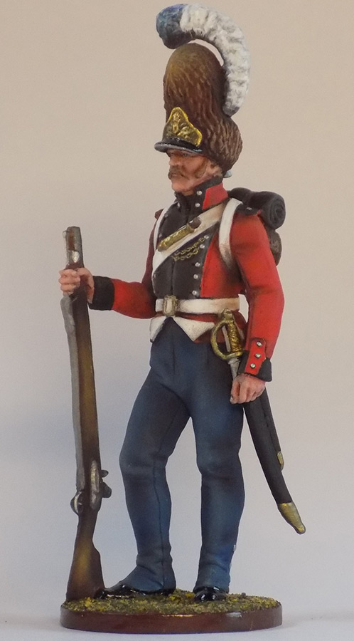 Figures: Grenadier of Oldenburg regt., Denmark, 1807-13, photo #5