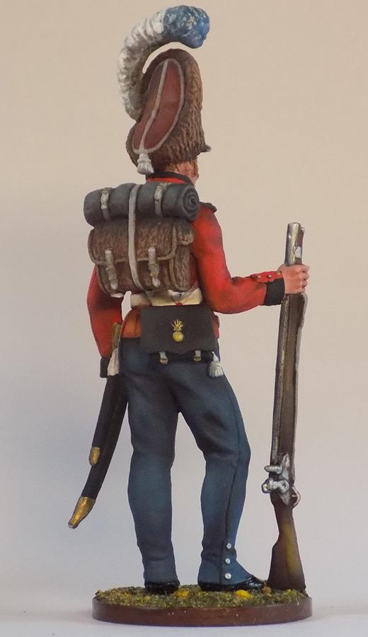 Figures: Grenadier of Oldenburg regt., Denmark, 1807-13, photo #6