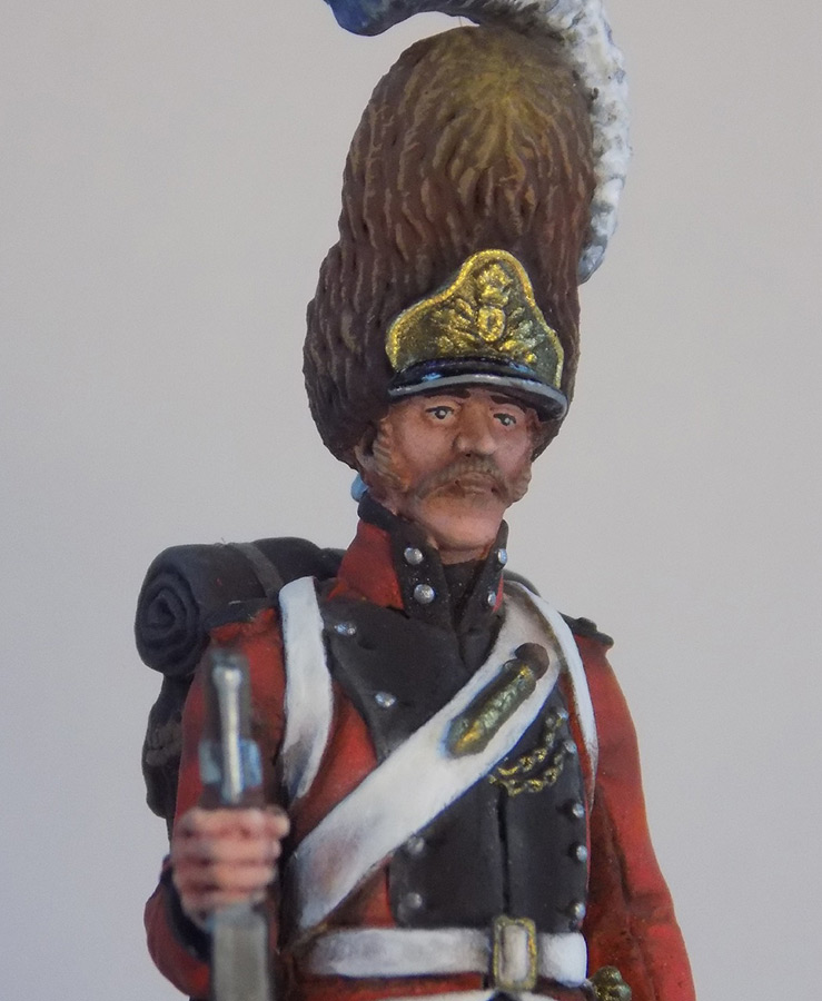 Figures: Grenadier of Oldenburg regt., Denmark, 1807-13, photo #7
