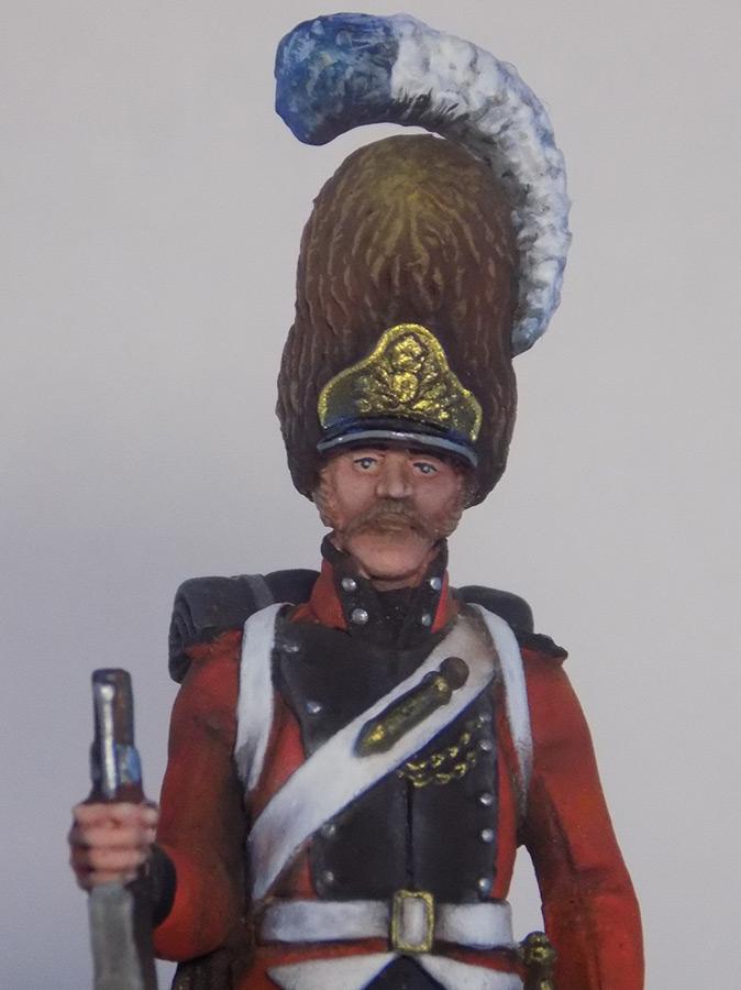 Figures: Grenadier of Oldenburg regt., Denmark, 1807-13, photo #8