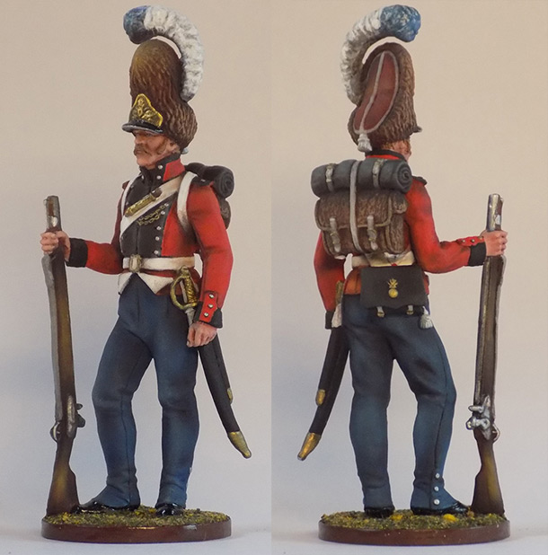 Figures: Grenadier of Oldenburg regt., Denmark, 1807-13