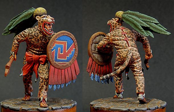 Figures: Jaguar warrior