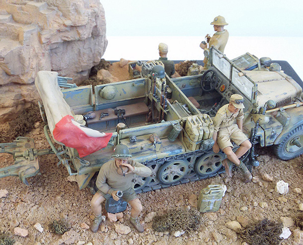 Dioramas and Vignettes: Under the Sahara sun