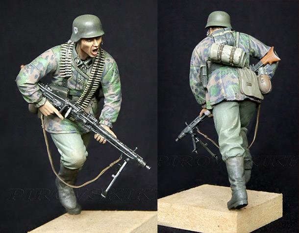 Figures:  MG-42 Gunner