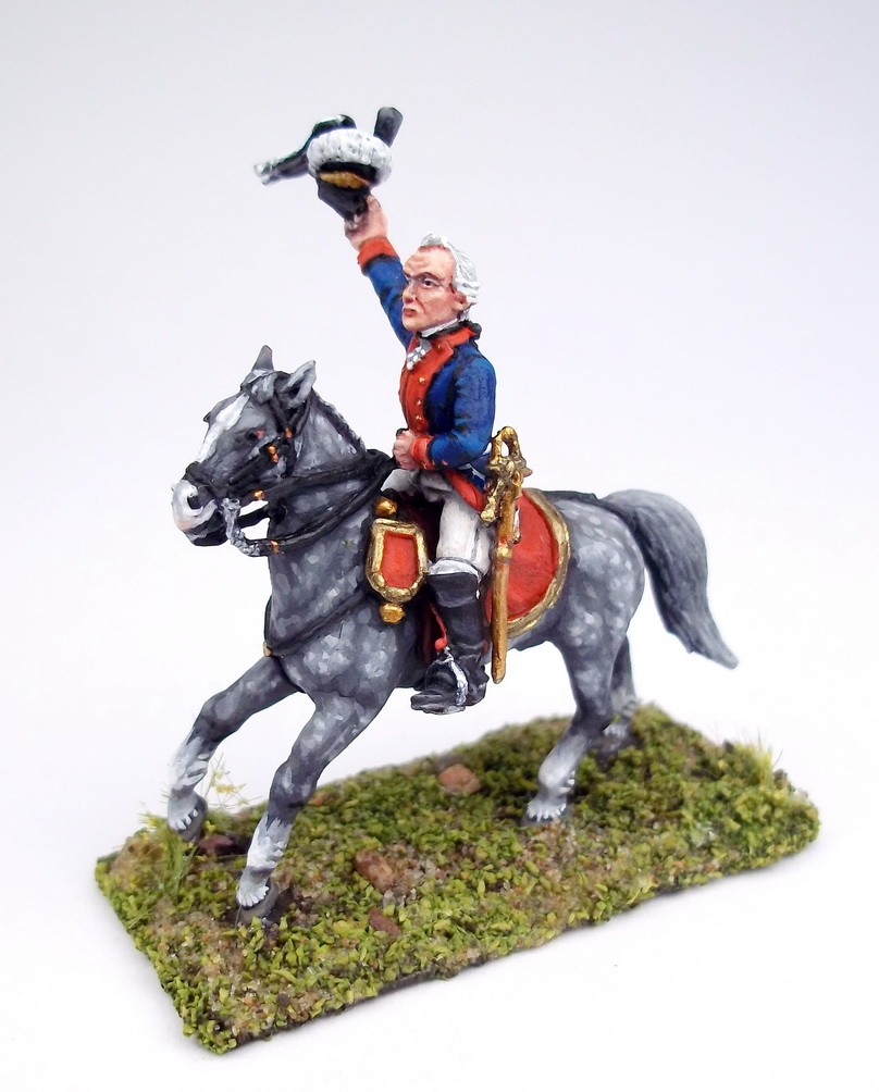 Figures: A.V.Suvorov and his bogatyrs, photo #1