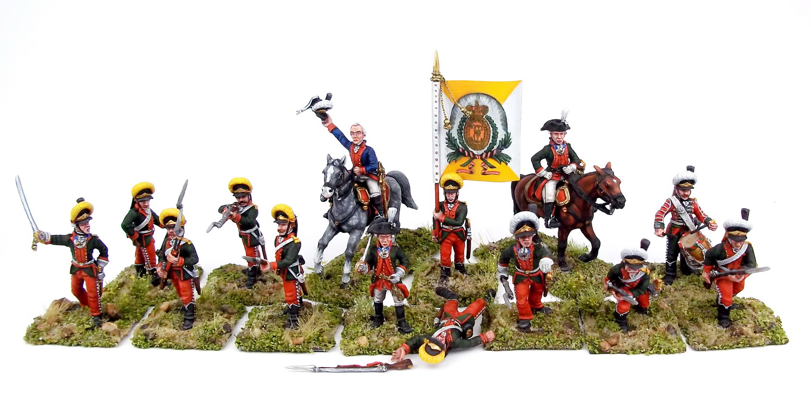 Figures: A.V.Suvorov and his bogatyrs, photo #37