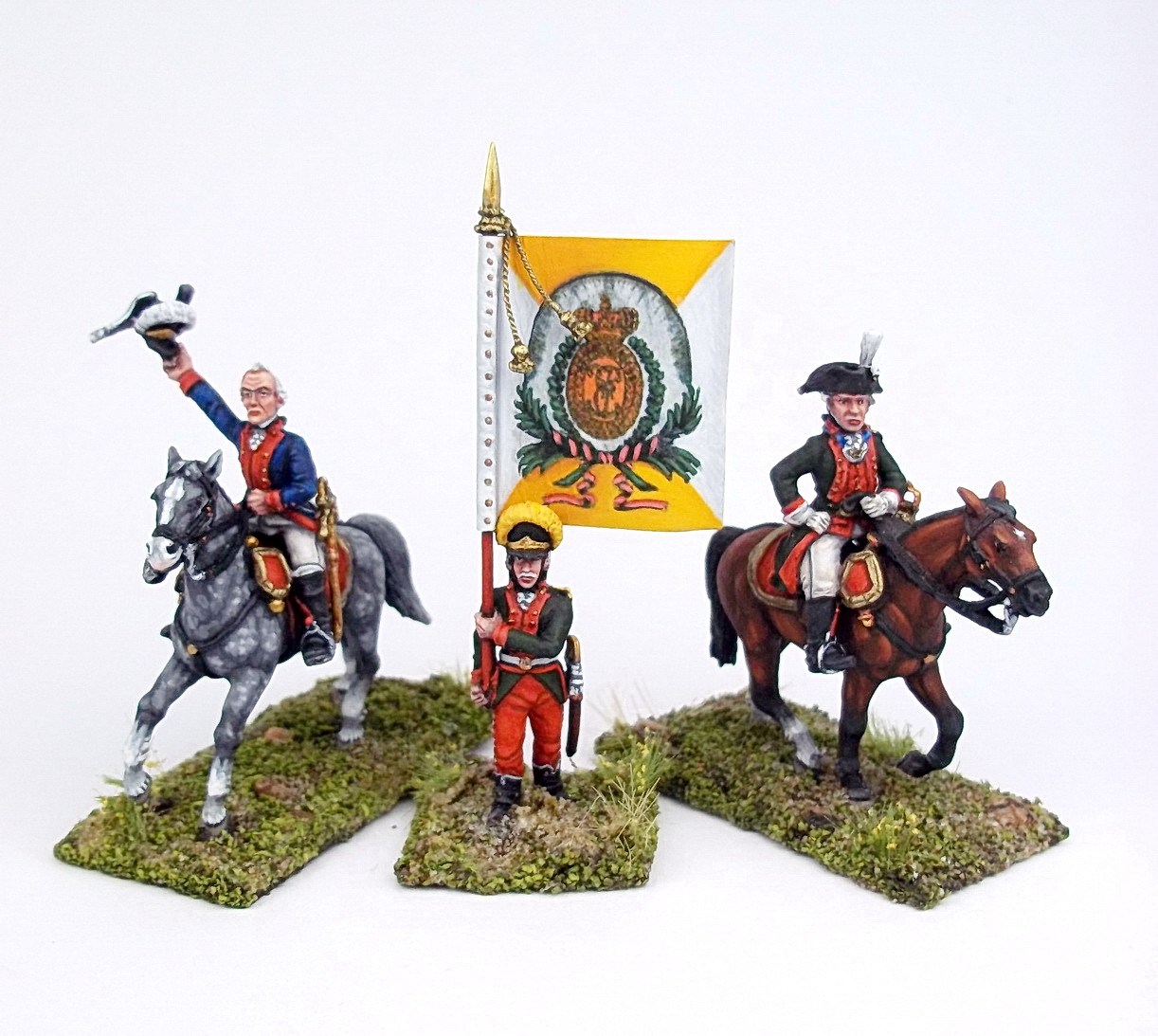 Figures: A.V.Suvorov and his bogatyrs, photo #38