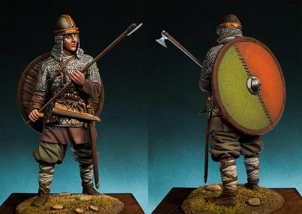 Figures: Russian warrior, X A.D.