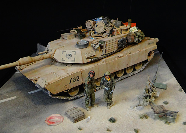 Dioramas and Vignettes: Road to Fallujah