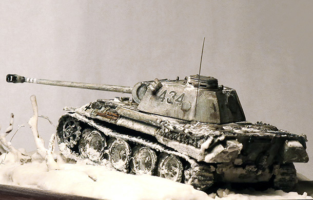 Dioramas and Vignettes: Panther 1944