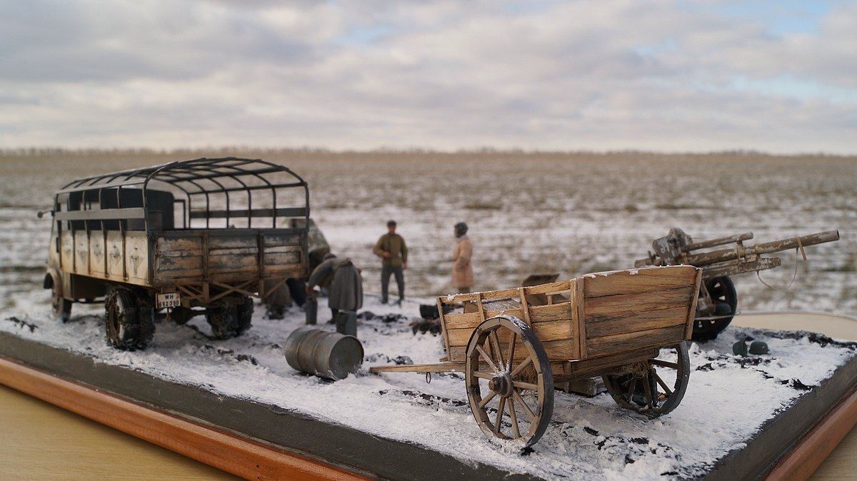 Dioramas and Vignettes: Cherkassy, February 1944, photo #10