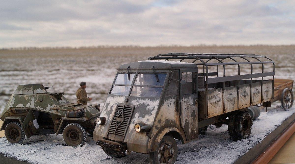 Dioramas and Vignettes: Cherkassy, February 1944, photo #8