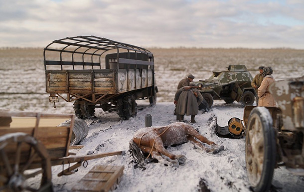 Dioramas and Vignettes: Cherkassy, February 1944