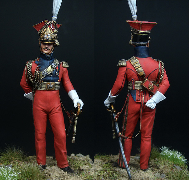 Figures: Officer of Red Lancers, 1813