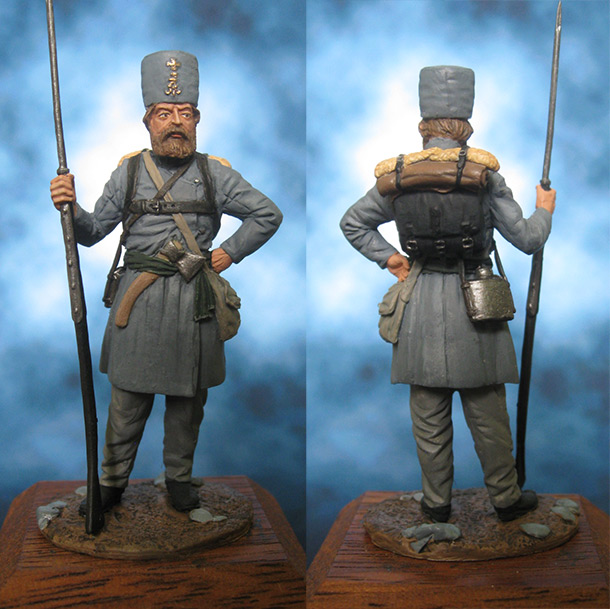 Figures: Moscow home guard, 1812