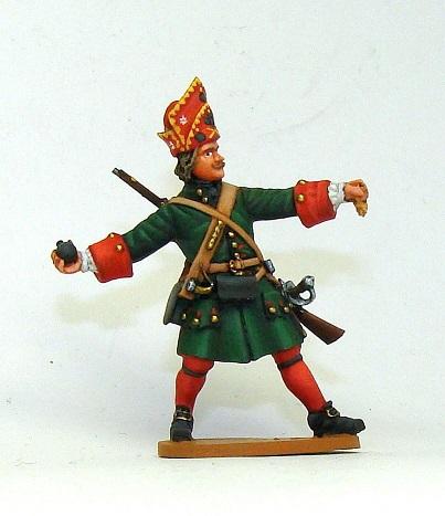 Figures: Russian grenadiers, Great northern war, photo #1