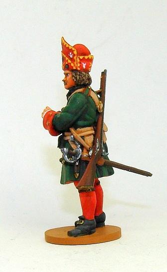 Figures: Russian grenadiers, Great northern war, photo #10