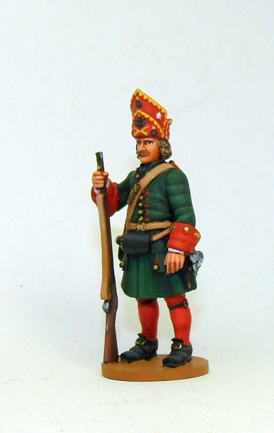 Figures: Russian grenadiers, Great northern war, photo #13