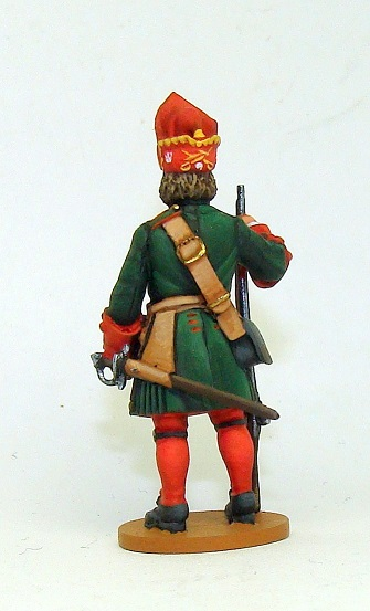 Figures: Russian grenadiers, Great northern war, photo #14