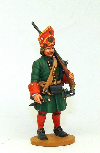 Figures: Russian grenadiers, Great northern war, photo #16