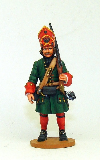 Figures: Russian grenadiers, Great northern war, photo #17