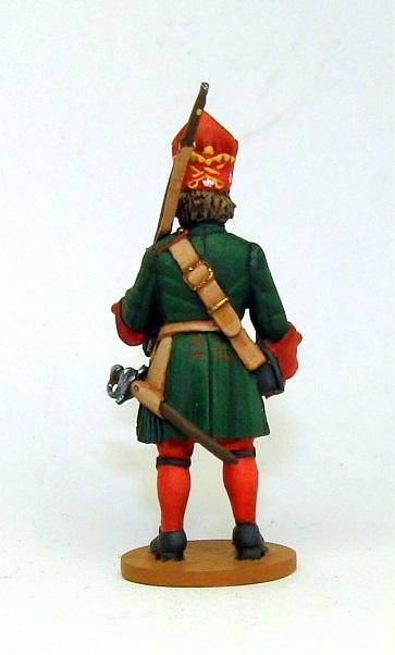 Figures: Russian grenadiers, Great northern war, photo #18