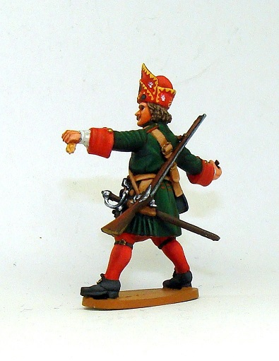 Figures: Russian grenadiers, Great northern war, photo #2