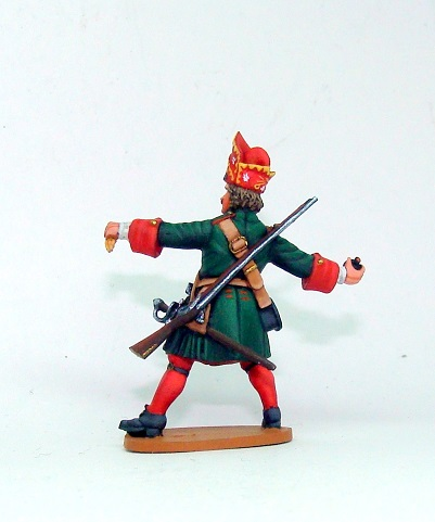 Figures: Russian grenadiers, Great northern war, photo #3
