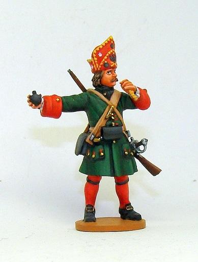Figures: Russian grenadiers, Great northern war, photo #5